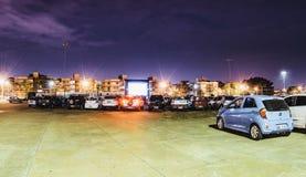 Cine Autorama w Campo Grande - MS przy Pracą robi tata zdjęcie stock