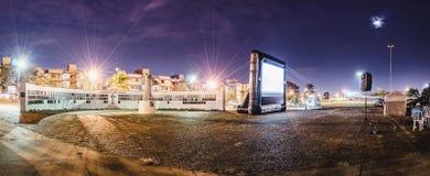 Cine Autorama w Campo Grande - MS przy Pracą robi tata obraz stock