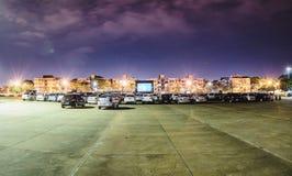 Cine Autorama w Campo Grande - MS przy Pracą robi tata obraz royalty free