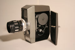 Cine camera. S take photographs in rapid sucession Royalty Free Stock Photo