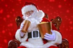 Cine de la película de la Navidad fotos de archivo libres de regalías