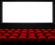 Cine Hall Background Fotos de archivo