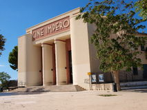 Cine Impero, marsala, Sicily, Włochy Obraz Royalty Free