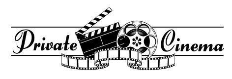 Cine privado Fotos de archivo libres de regalías