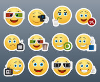 Cine Stickers Stock Images
