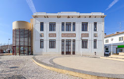 The Cine-Teatro (cinema and theater) of Nisa. Nisa, Portugal Stock Image