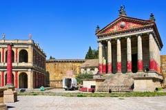 Cinecitta studior i Rome, Italien Arkivbild