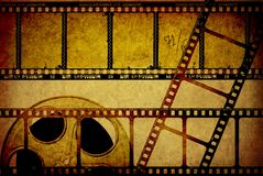 Cinema. Movie background for you project Royalty Free Stock Image