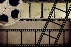 Cinema. Movie background for you project Stock Photography