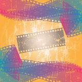 Cinema. Vector illustration with various strips of cinema Royalty Free Stock Photos