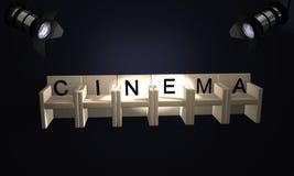 Cinema Imagens de Stock