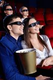 At the cinema Royalty Free Stock Photo