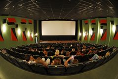 cinema 3 siedzenia Obraz Stock