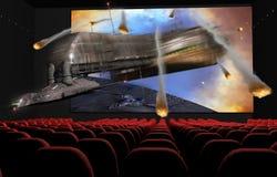 cinema 3D Fotografia de Stock Royalty Free