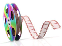 Cinema. Video CD . Conceptual 3d rendered illustration Stock Photo