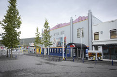 Cinema in Akureyri, Iceland Stock Images