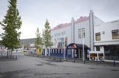 Cinema in Akureyri, Iceland Stock Images