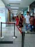 Cinema al centro commerciale della città del pvr al bagh di Shalimar fotografia stock libera da diritti