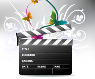 Cinema Art Style. Modern and active cinema illustration style Royalty Free Stock Images