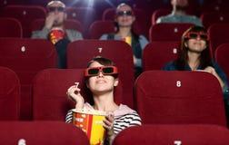 Cinema audience Stock Photos