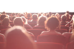 Cinema audience Stock Images