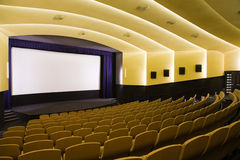 Cinema auditorium Stock Image