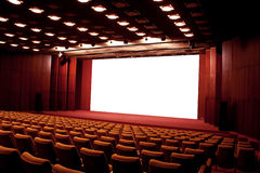 Cinema auditorium Stock Images