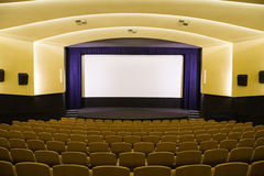 Cinema auditorium Royalty Free Stock Photography