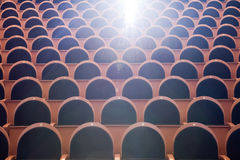 Cinema auditorium Royalty Free Stock Photography
