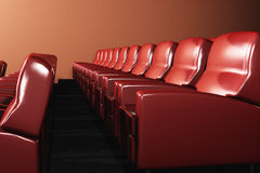 Cinema Auditorium Interior Stock Photography