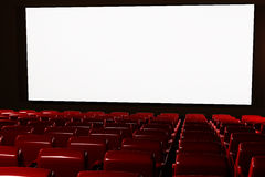 Cinema Auditorium Interior 3D render Stock Photos