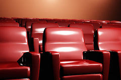 Cinema Auditorium Interior 3D render Royalty Free Stock Images