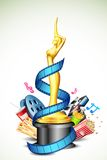 Cinema Award Royalty Free Stock Photo