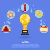 Cinema Award Concept Royalty Free Stock Photography