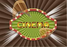 Cinema backgrouhnd Stock Photo