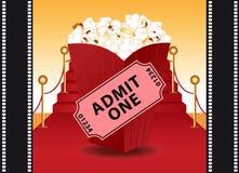 Cinema background. Royalty Free Stock Photos