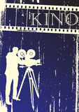 Cinema background Royalty Free Stock Images