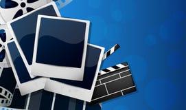 Cinema background Stock Photo