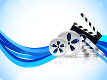 Cinema background Royalty Free Stock Photography