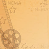 Cinema background Royalty Free Stock Image