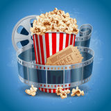 Cinema background Stock Images
