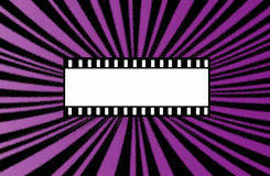 Cinema background. Radiating background with effect sprayed with frame Royalty Free Stock Photography