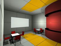 Cinema bar Stock Images