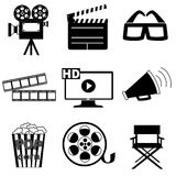 Cinema black Royalty Free Stock Photography
