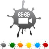 Cinema  blot. Stock Image