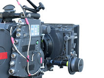 Cinema camera Royalty Free Stock Photography