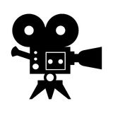Cinema camera icon Royalty Free Stock Image