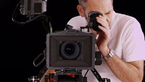 Cinema camera Stock Photos