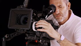 Cinema camera Royalty Free Stock Photo