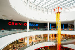 Cinema Cavea IMAX at the modern shopping mall East Point In Tbil Stock Photo